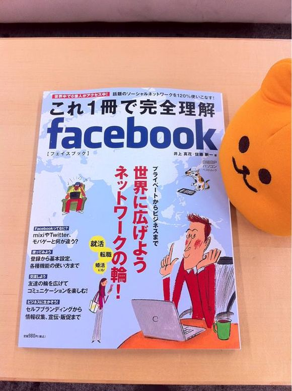 Facebookのムック本に私が企業の担当者風に登場してるよー(*゚▽゚*)